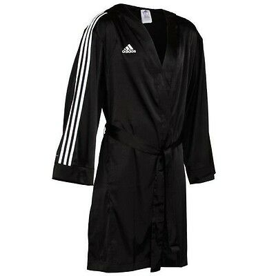 Adidas B8 Boxing Robe Hooded Silky Hoody Training Performance MMA Addidas Gloves
