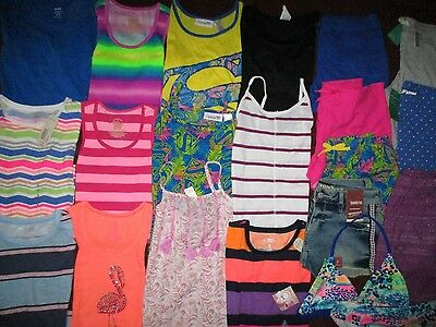 Girls Size 14  Spring Summer Lot NAME BRAND Clothes & Outfits NWT'S