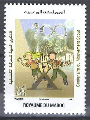 Morocco Maroc Stamp Timbre New  Scouting 2007 Centenary