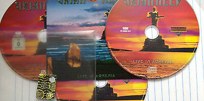 Live In Armenia Uriah Heep 2 CD + DVD  New FRONTIERS records ITALY 2011