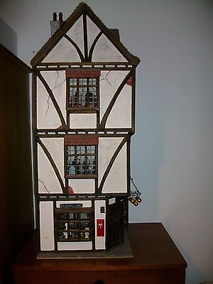 1/12 scale Tudor  timber frame dolls house by grandads playroom.