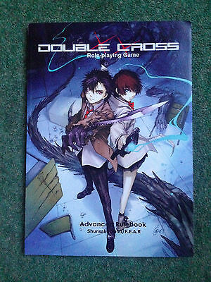 Double Cross advanced role playing rpg game handbook rule book vgc Yano Fear