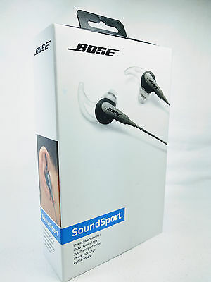 Bose Soundsport In-Ear Headphones For Android & Ios Charcoal Black 1426