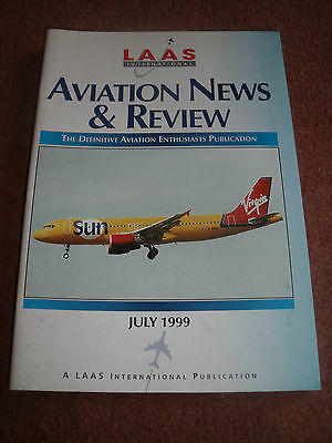 Laas Aviation News & Review Magazine July 1999 -