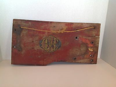 Very Old Antique Ihc International Harvester  Wood Part