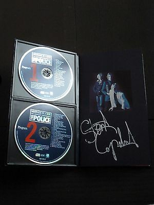 Message in a Box Police 4 CD box set signed by Stewart Copeland n. 214070 Rare!!