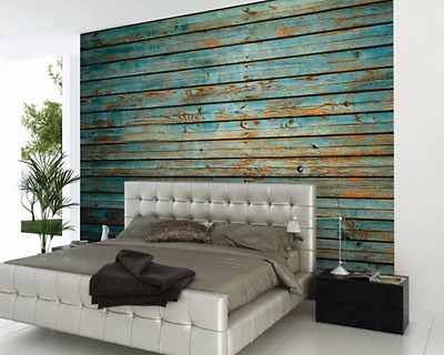 Timber Digital Wall Art Mural Wallpaper Bedroom Home Decor Giant Photo Poster