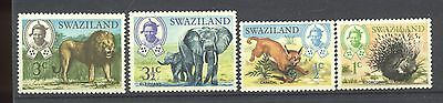 Swaziland 4 Stamps
