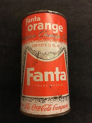 Vintage original FANTA ORANGE can