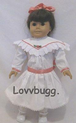 """Victorian Tea Party Dress for American Girl Samantha or Rebecca 18"""" Doll Clothes"""