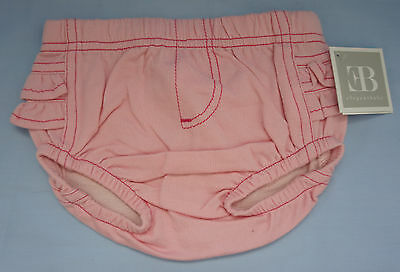 NWT Elegantbaby Baby Diaper cover Denim-Pink 6M