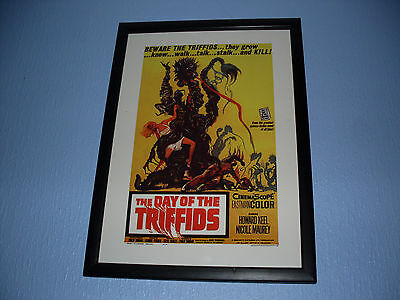 Day of the Triffids Sci Fi Framed Poster - A3 Size