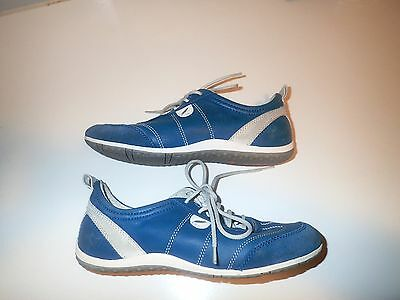 GEOX Sneakers Casual Shoes Size 37 (Near New) Italian Leather