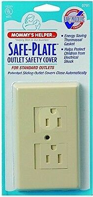 Mommys Helper Safe Plate Electrical Outlet Cover - Standard (Center Screw) - ...