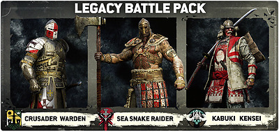 FOR HONOR LEGACY BATTLE PACK SET  DLC Ps4 Playstation 4,Xbox One,PC