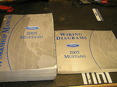2005 Ford Mustang Factory Workshop Manuals