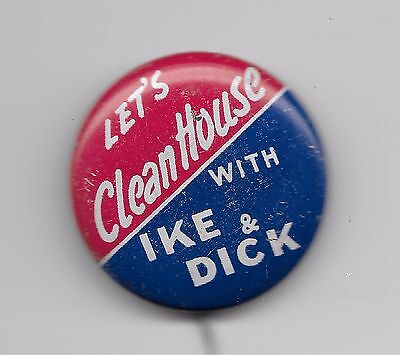 Let's  Clean  House  With  Ike  &  Dick