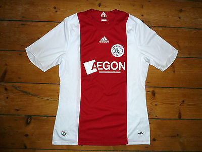 AJAX FOOTBALL SHIRT  size:Medium 2008 AMSTERDAM  SOCCER JERSEY Suarez  Era