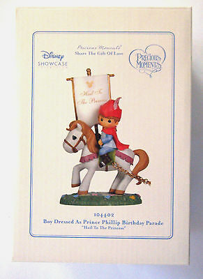 Precious Moments Disney Birthday Parade Train Figurine  Prince Phillip #104402