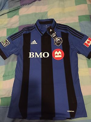 Marco divaio Montreal Impact Jersey NWT Large