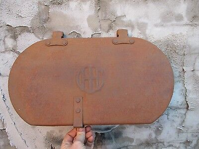 Rare Vintage Large Ih International Harvester Tractor Implement Planter Lid Sign