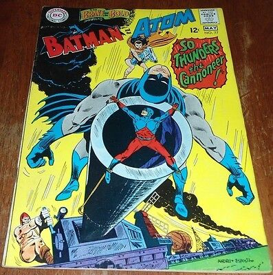 "The Brave And The Bold # 77 Fn+ (1968 Dc) The Atom ""thunders The Cannoneer !"""