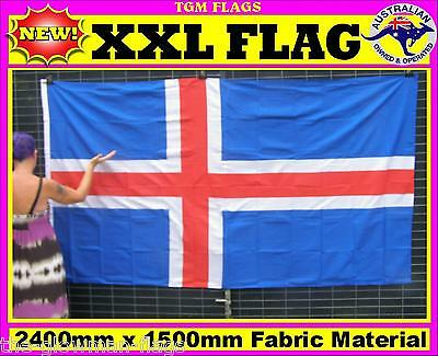 Iceland flag Icelandic flag for house wall pole sports event man woman cave