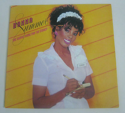 Donna Summer Lp She Works Hard For The Money +Inner Excl+ 1983 812265-1 M-1
