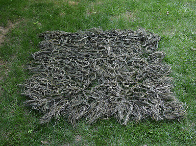 New Hunting Military Army Ghillie Suit 80*90cm Jungle camo Burlap Camo Netting