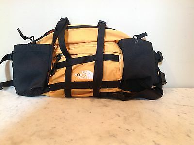 Black Yellow The North Face Fanny Pack Waist Lumbar Bag Water Bottle Holder