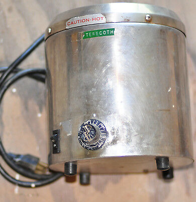 Server Round Warmer Base Only  - 500 WATTS #10 Can - from DQ