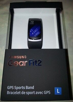 Genuine Samsung Gear Fit 2 Smart Watch - Large Band