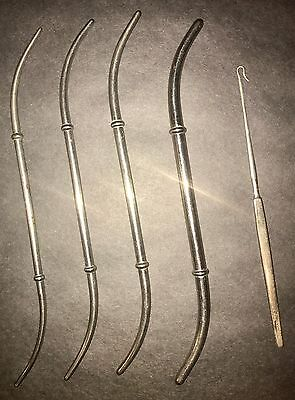 A.S. Aloe Company Nickel/Chrome Plate Medical/Surgical Tools Ca. 1900