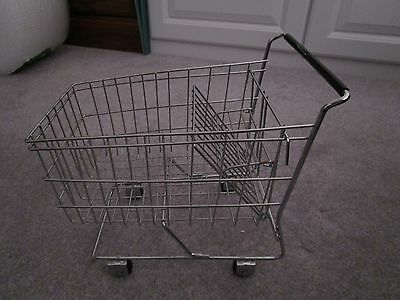"""Small 11"""" Metal Grocery Cart"""