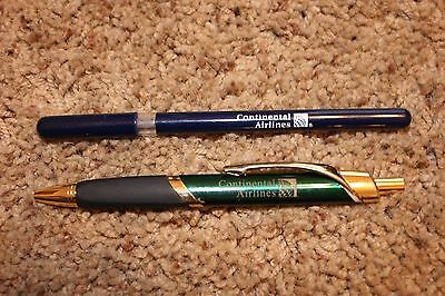Rare Continental Airlines pens
