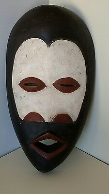 African Dan Mask from Liberia represents feminine beauty