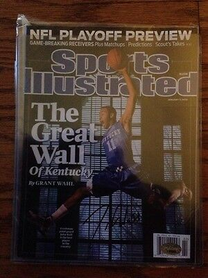 John Wall Signed Sports Illustrated SI PSA Certified