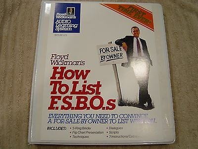 Floyd Wickmans What Every For Sale By Owner Should Know With Audio Tapes FISBO