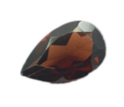 Pear Garnet 5X8 1 pc Faceted Red gems UK