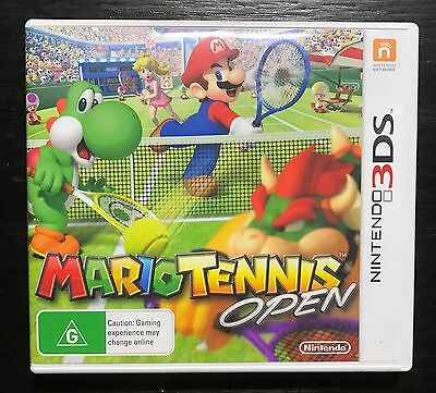 Mario Tennis Open for Nintendo 3DS | NEVER USED - AUS Stock