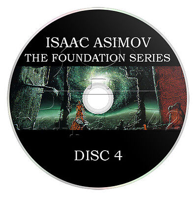 Isaac Asimov - The Foundation Series (4 x mp3 CD) Complete Audiobook Collection