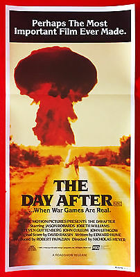THE DAY AFTER - Original 1983 Australian cinema daybill movie poster