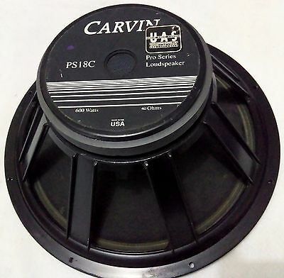 "Eminence Carvin Ps18 Ps18C 4 Ohms 18""speaker Woofer With 60 Days Warranty"