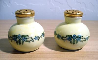 Vintage Art Deco Bavaria Salt & Pepper Shakers Hutschenreuther