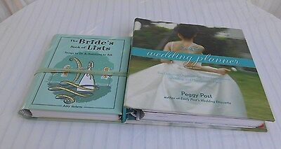 Emily Post's Wedding Planner & The Bride's Book of Lists (2 Books)