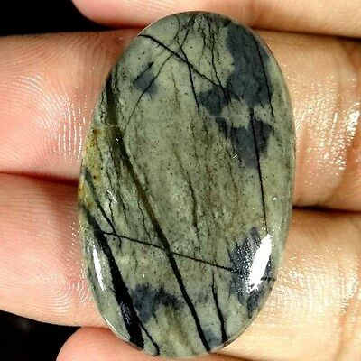 49.45Cts. 100% Natural Beautiful Picasso Jasper Oval Cabochon Loose Gemstone