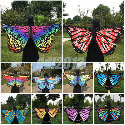 Bohemian Women Ladies Scarf Butterfly Wing Soft Wrap Long Shawl Scarves Tapestry