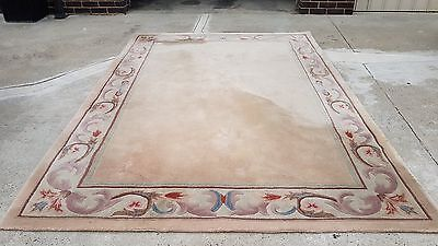 100% wool rug 203cm x 291cm. Purchased for $1400.00