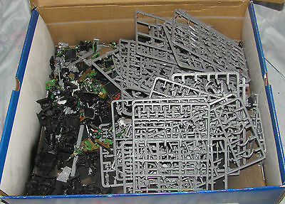 Large Lot of Warhammer Orcs and Goblins, Manglers, Squigs, Boars, and more