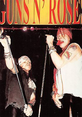 Guns N' Roses rock band on stage